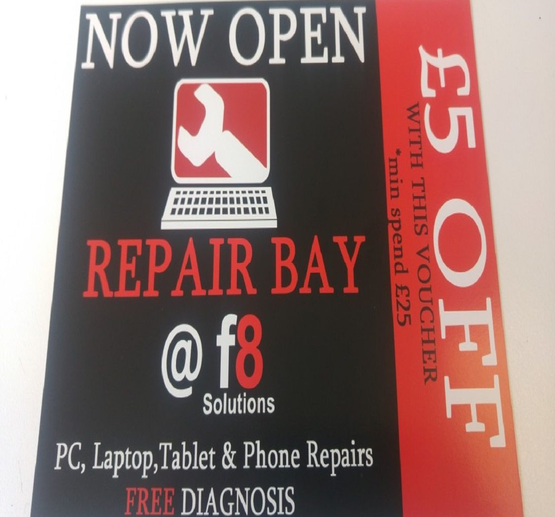 £5 Vouchers for Computer Repairs in Bournemouth